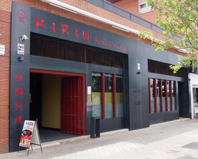 Fachada Restaurante Kirin